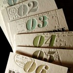 custom letterpress invitation