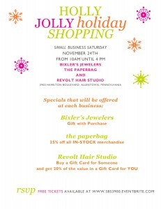 Holly Jolly Holiday Party 2 - holly jolly shopping - list of specials
