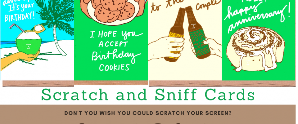 Scratch and Sniff Cards